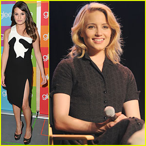 Lea Michele & Dianna Agron: 'Glee' Screening and Q&A!