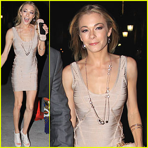 LeAnn Rimes: NBC Upfront Party with Eddie Cibrian!