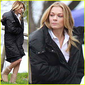 LeAnn Rimes Gets to Work on 'Reel Love'