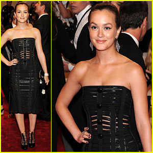 Leighton Meester - MET Ball 2011