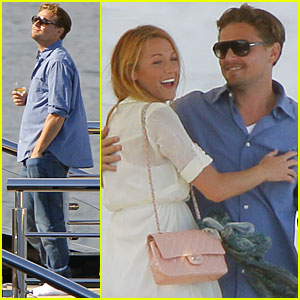 Leonardo DiCaprio & Blake Lively: We're On A Boat!