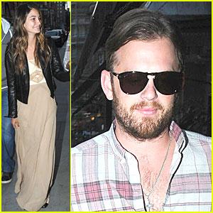 Caleb Followill & Lily Aldridge: Scott's Restaurant Stop