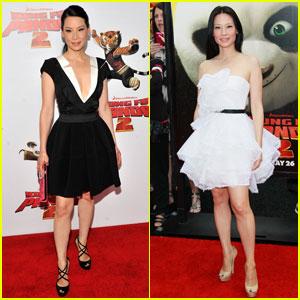 Lucy Liu: 'King Fu Panda 2' L.A. & NYC Premiere
