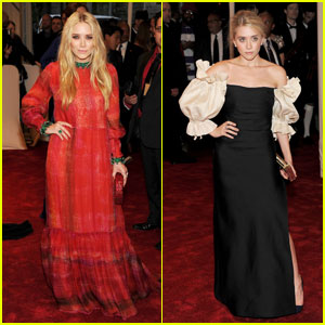 Mary-Kate & Ashley Olsen - MET Ball 2011