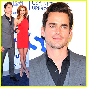 Matt Bomer: USA Upfronts in NYC!