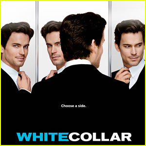 Matt Bomer's 'White Collar' Key Art - EXCLUSIVE