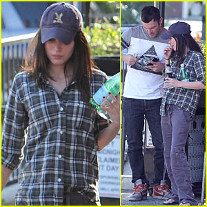 Megan Fox & Brian Austin Green: Lucifers in Los Feliz!