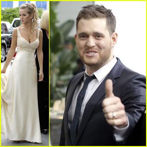 Michael Buble: Second Wedding with Luisana Lopilato!