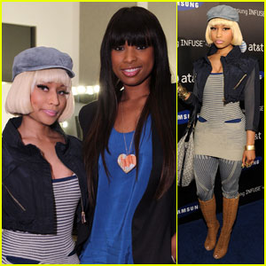 Nicki Minaj &#038; Jennifer Hudson: Samsung Launch Ladies