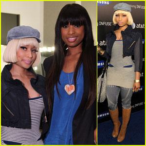 Nicki Minaj & Jennifer Hudson: Samsung Launch Ladies