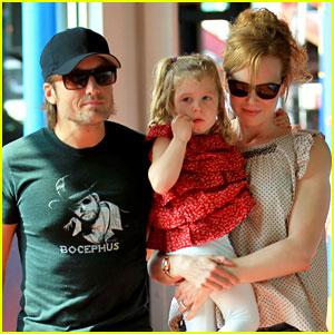 Nicole Kidman & Keith Urban: Bowling with Sunday!