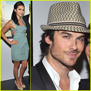 Ian Somerhalder &#038; Nina Dobrev: World Ocean Day!