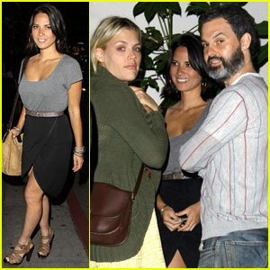 Olivia Munn: Night Out with Busy Philipps!