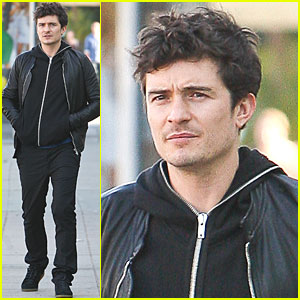 Orlando Bloom: CraftWorkWear Visit