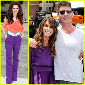 Paula Abdul: 'X Factor' Auditions with Simon & Cheryl!