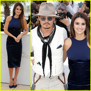 Johnny Depp & Penelope Cruz: 'Pirates' in Cannes!