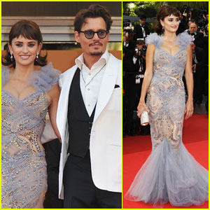 Penelope Cruz & Johnny Depp Premiere 'Pirates' in Cannes