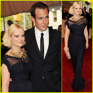 Amy Poehler - MET Ball 2011 with Will Arnett!