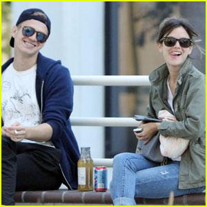 Rachel Bilson & Hayden Christensen: Food Truck Lunch!