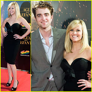 Reese Witherspoon: 'Water for Elephants' Spain Premiere with Robert Pattinson!