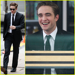 Robert Pattinson On Set of 'Cosmopolis'!