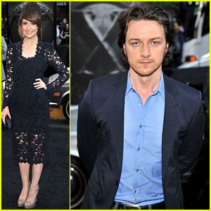 Rose Byrne: 'X-Men: First Class' Premiere with James McAvoy