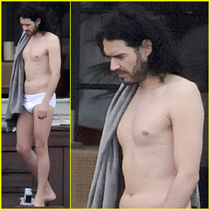Russell Brand: Tighty Whities in Miami!