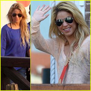 Shakira: Venice Vacation!
