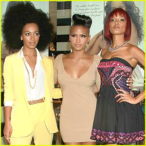 Solange, Selita & Cassie: Carol's Daughter Spokesbeauties