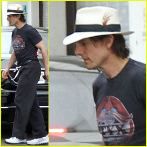 Tom Cruise: 'Rock of Ages' Rehearsal!