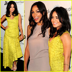 Vanessa Hudgens: Calvin Klein Party with Rosario Dawson!