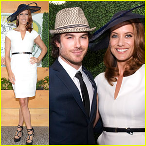 Kate Walsh: Kentucky Derby with Ian Somerhalder!