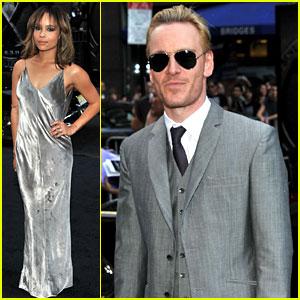 Zoe Kravitz & Michael Fassbender: 'X-Men: First Class' Premiere!