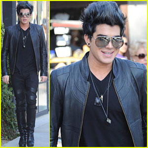Adam Lambert Clears Up Accident Rumors