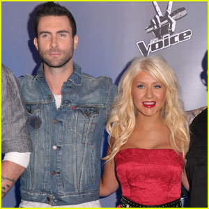 Christina Aguilera & Adam Levine's 'Moves Like Jagger' - FIRST LISTEN