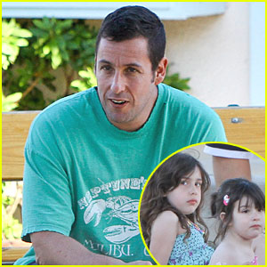 Adam Sandler: Memorial Day with Sadie & Sunny!