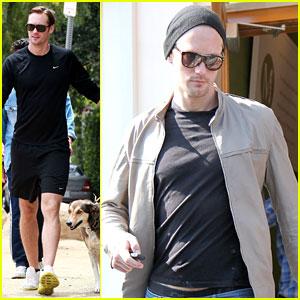 Alexander Skarsgard Walks Kate Bosworth's Dog