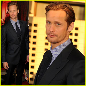 Alexander Skarsgard: 'True Blood' Season 4 Premiere!