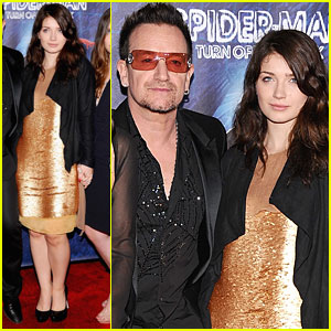 Eve Hewson: 'Spider-Man: Turn Off the Dark' Opening Night!