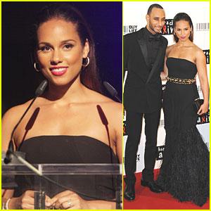 Alicia Keys: Keep A Child Alive Ball!