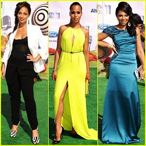 Alicia Keys & Kerry Washington - BET Awards 2011