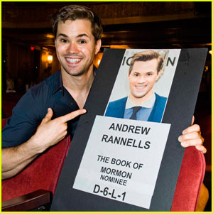 Andrew Rannells Interview - JustJared.com Exclusive