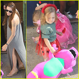 Angelina Jolie: Malta with the Jolie-Pitt Kids!