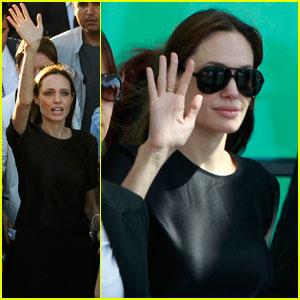 Angelina Jolie: Syrian Refugee Camp Visit