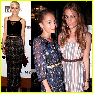 Ashlee Simpson & Nicole Richie: I Heart Ronson Party!