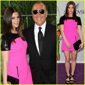 Ashley Greene & Michael Kors - CFDA Fashion Awards 2011