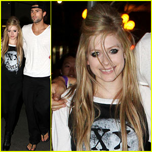 Avril Lavigne: Canada Weekend with Brody Jenner