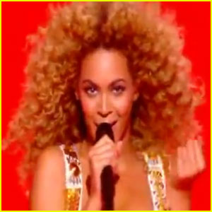 Beyonce: 'Run the World (Girls)' on 'X Factor France'!