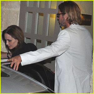Brad Pitt & Angelina Jolie: Date Night in Malta!