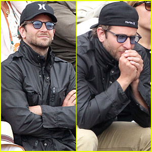 Bradley Cooper Frequents The French Open